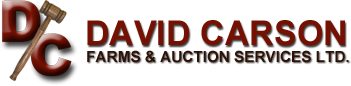 David Carson Farms & Auction Services Ltd.